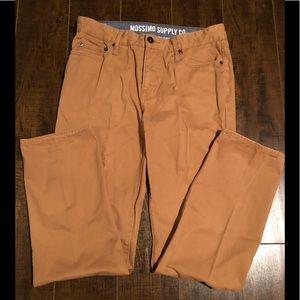 Mossimo Slim Straight Pants